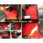 Ford Fiesta 5dr ไวนิลแดงขอบครีม