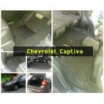 พรมปูพื้นรถนต์ Chevrolet Captiva ไวนิลสีเทา