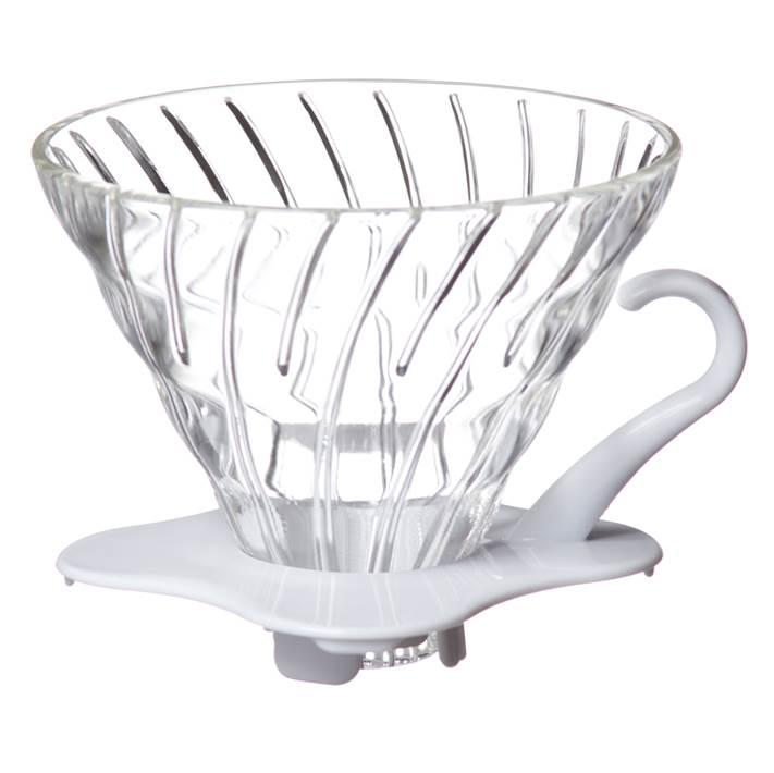 Coffee Dripper V60 - 02 Glass สีขาว