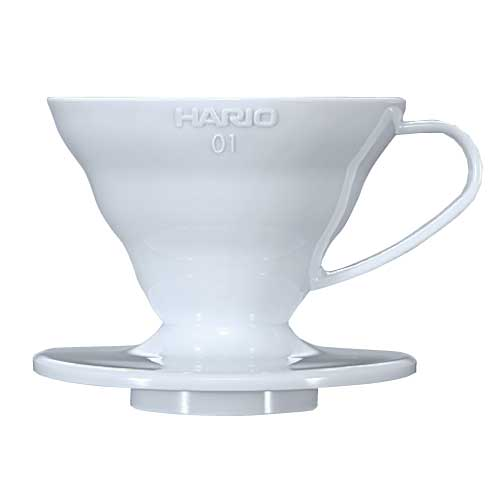 Coffee Dripper V60 - 01 Plastic สีขาว