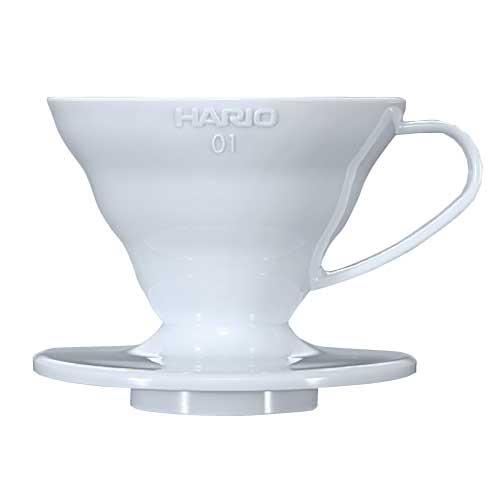 Coffee Dripper V60 - 02 Plastic สีขาว