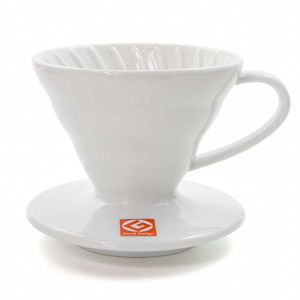 Coffee Dripper V60 - 02 Ceramic สีขาว