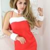 ชุดกระต่ายน้อยเดรสสีแดง(2563) (ฟรีไซส์)