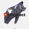ถุงมือขับขี่รถมอเตอร์ไซค์บิ๊กไบค์ Bigbike Komine GK 144 Super Fit Sport Glove Titanium