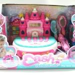 ชุดแคชเชียร์ตั้งโต๊ะ Castle princess ส่งฟรีพัสดุไปรษณีย์