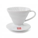 Coffee Dripper V60 - 01 Ceramic สีขาว
