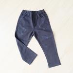 กางเกงขายาวสีน้ำเงินเข้ม