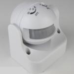 สวิตช์ตรวจจับการเคลื่อนไหว ชนิดติดผนัง (Wall Mounted Infrared Motion Sensor)