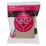 V60 Coffee Paper Filter for 01 Dripper สีน้ำตาล 100 ชิ้น