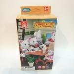 เฟอร์นิเจอร์สำหรับเล่นในบ้านกระต่าย โต๊ะทานข้าว ส่งฟรีพัสดุไปรษณีย์