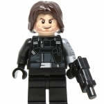 sh257 Winter Soldier - Black Hands and Holster