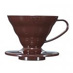 Coffee Dripper V60 - 01 Plastic สีน้ำตาล