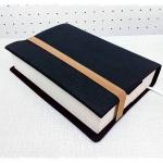 ปกหนังสือผ้า handmade ผ้ายีนส์สีกรมท่า