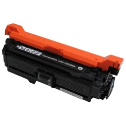 CE250A (504A) FOR HP COLOR LASERJET CP3525/CP3525n/CP3525dn/CP3525x/CM3350/CM3530/CM3530fs BLACK 5K