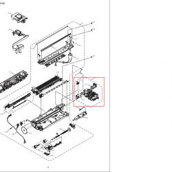 LS6544001 MAINTENANCE UNIT ASSY (SP) FOR BROTHER DCP165C/J125/135W/220/265W/410/415W/515W/่J140W