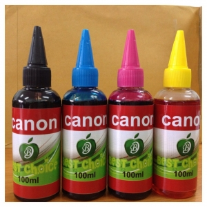 BIRC1001 น้ำหมึกเติม BEST CHOICE INKJET REFILL FOR CANON BLACK 100ML