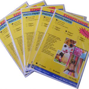 A6/230g glossy photo paper