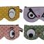 ซองแว่นตา/แว่นกันแดด handmade รูปทรงตาโต ผ้าพื้นหลังลายจุด thumbnail 4