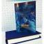 ปกหนังสือผ้า handmade สายรัดป้องกันปกยับ กันน้ำ ขยายขนาดได้ thumbnail 3