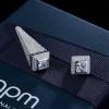 APM Earring ต่างหู แบรนด์APM ตัวแพง ทรงคล้ายดิออร์ค่ะ ใส่ได้ทั้งหน้าและหลัง ตามลุค เพชรCZฝังแท้
