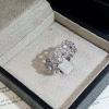 "diamond Ring แหวนเพชรทั้งวง สไตส์วินเทจ งานเพชรสวิสฝังแบบMicrosetting ""งานดีไซส์เก๋ๆ แนวคลาสสิค "" เสมือนเพชรแท้ สวยเลอค่ามาก เล่นไฟงามสุดๆ"