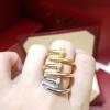 JUST UN CLOU diamond Ring แหวนคาร์เทียตะปู เพชรฝังCZ8A งาน1:1 งานแสตนเลสแท้