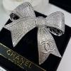 Ribbon diamond brooch เข็มกลัดชาแนล ทรงโบว์ งานเกรดJewelry