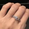 "Infinity diamond ring แหวนเพชร ลายอินฟินิตี้ประดับเพชรกลม งานเกรดJewelry ""ดีไซส์เก๋ๆ เรียบๆ แต่ดูดีมีราคา "" งานเพชรCZแท้ 8A คัดพิเศษ"