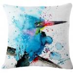 หมอนอิง Graffiti Blue Bird