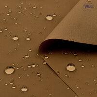 210T Waterproof PU Nylon Taffeta/58''/Tan