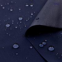 210T Waterproof PU Nylon Taffeta/58''/Navy Blue