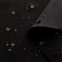210T Waterproof PU Nylon Taffeta/58''/Black