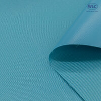 600D PVC Oxford Polyester/ Flat Backing/58''/50Y/Light Blue*A