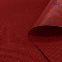 600D PVC Oxford Polyester/ Flat Backing/58''/50Y/Red*A
