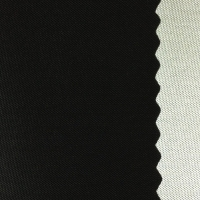 Silver Coated Fabric 60''/Polyester/Black