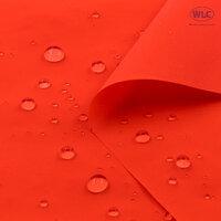 210T Waterproof PU Nylon Taffeta/58''/Neon Orange