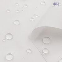 210T Waterproof PU Nylon Taffeta/58''/White