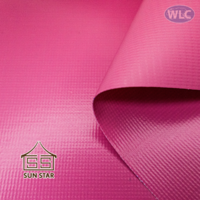 """PVC Coated Tent Sunstar/44""""/100y/Pink"""