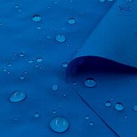 210T Waterproof PU Nylon Taffeta/58''/Matt Blue