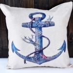 หมอนอิง Blue Anchor