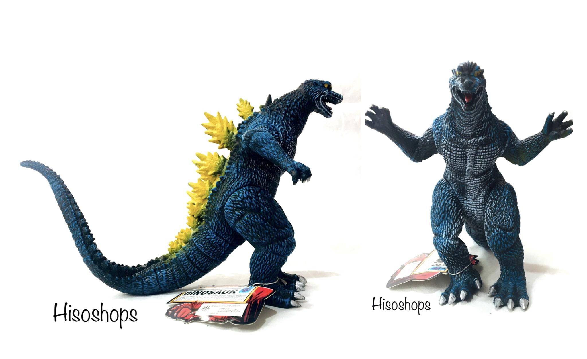 Godzilla Model โมเดลก็อตซิลล่า ตัวใหญ่ สีน้ำเงิน-เหลือง Toy world WA-27740A  สีน้ำเงิน-เหลือง - ร้านของเล่นราคาถูก ของเล่นขายส่ง ร้านไฮโซชอป HISOSHOP :  Inspired by LnwShop.com